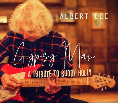Albert Lee CD cover - Gypsy Man